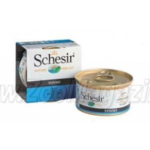 Schesir Tonnetto konservi kaķiem ar tunci