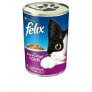 Felix Ente & Geflugel Gelle - Konservēta barība Кaķēniem (pile - mājputns) 400 g.